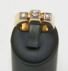 Anillo de oro macizo 18ct con Brillantes - mejor precio | unprecio.es