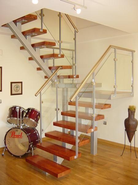 Madrid Escalera De Interior Para With Escaleras Para Buhardilla