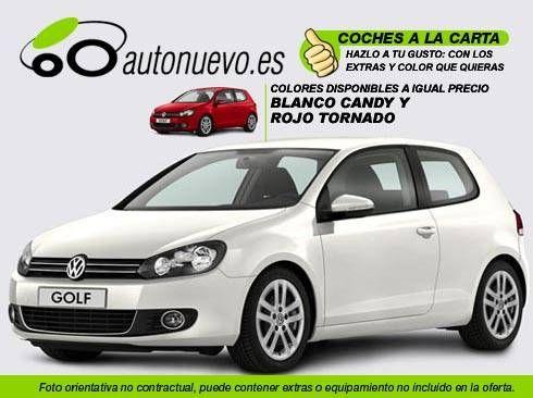 Volkswagen Golf Sport 1.6Tdi 105cv DSG 7vel. Blanco ó Rojo. Nuevo. Nacional. A la Carta.