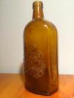 Botella de LARIOS MÁLAGA Muy antigua, con la marca y escudos labrados en el propio cristal - mejor precio   unprecio.es