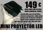 MINI PROYECTOR LED CINE EN CASA CONSOLA - mejor precio | unprecio.es