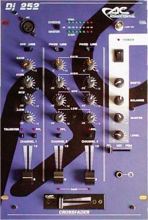 Mesa de Mezclas Acoustic COntrol DJ-252