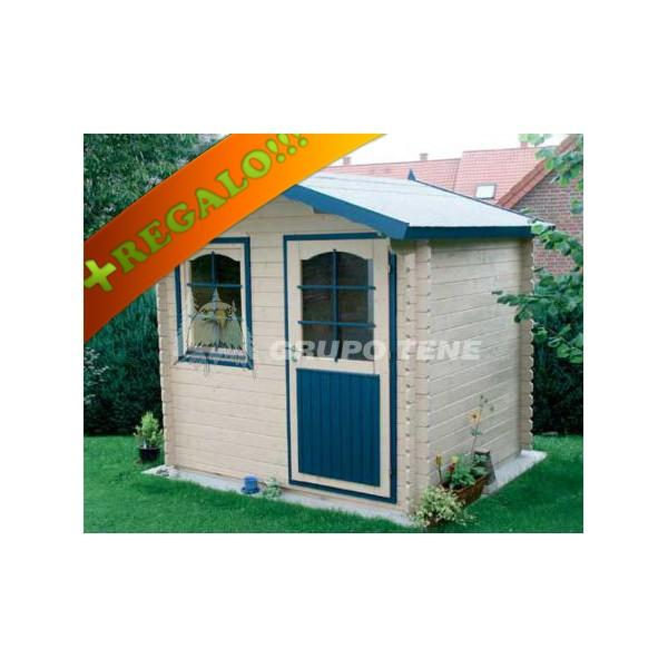 Se vende caseta de jard n prefabricada modelo hobby for Caseta de jardin de segunda mano