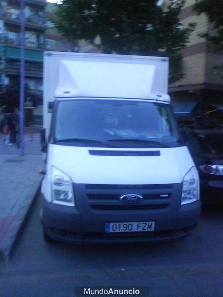 Vendo furgoneta ford transit con caja e isotermo reforzado for Vendo furgoneta camper