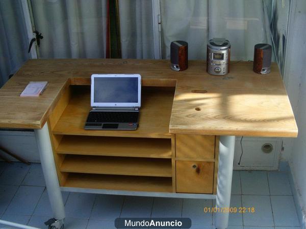 Vendo mueble para escritorio caja registradora o for Mueble para escritorio