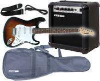 set de guitarra electrica a estrenar