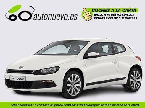 Volkswagen Scirocco 2.0Tdi 170cv 6vel. Blanco. Nuevo. Nacional. A la Carta.
