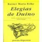 Elegías de Duino. Traducción y prólogo de José Mª Valverde. --- Editorial Lumen, Colección Poesía nº33, - mejor precio   unprecio.es