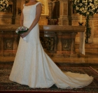 Vendo precioso y sencillo traje de novia del 2007 - mejor precio | unprecio.es