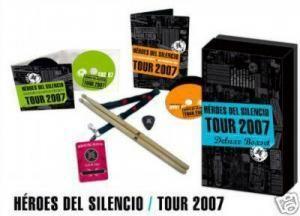 HEROES DEL SILENCIO. BOX TOUR 2007 DESCATALOGADO