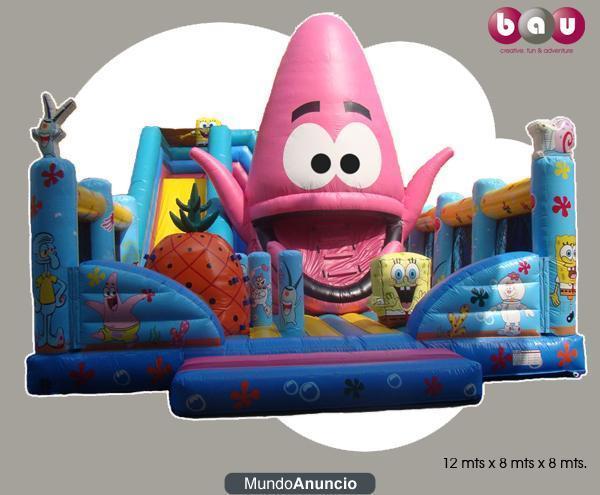 BAU Inflatables, Alquiler de Hinchables y mucho mas