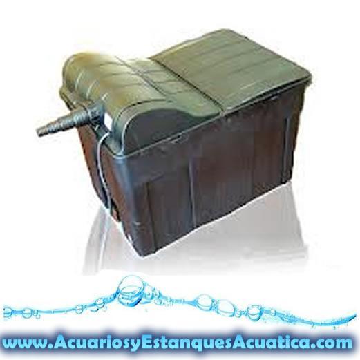 Filtro gravedad filtracion estanque uvc 18w mejor precio for Filtro estanque peces