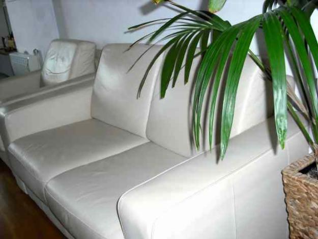 Se vende sof de piel de segunda mano en m laga sillones - Sofa de segunda mano en malaga ...