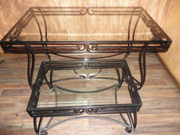 Mesas de salon y sillas de forja a estrenar mejor precio - Mesas y sillas de salon ...