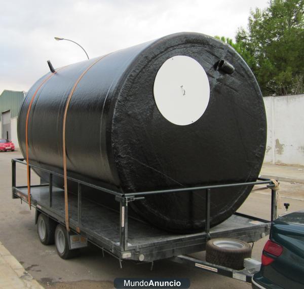 Ofertas en depositos de poliester cisternas y piscinas for Ofertas piscinas poliester