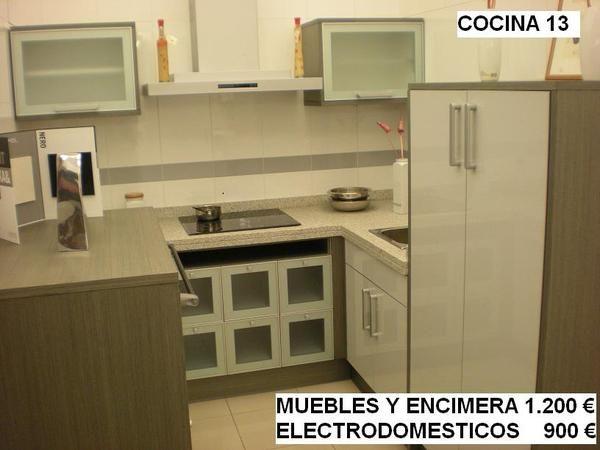 Cocinas saitra liquidacion de exposicion mejor precio - Liquidacion cocinas exposicion madrid ...