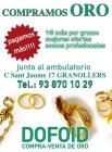 COMPRAMOS ORO - TASACION GRATUITA - mejor precio | unprecio.es
