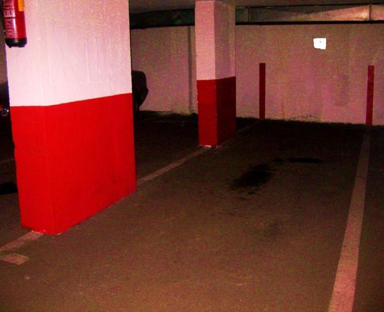 Venta amplia plaza garaje madrid