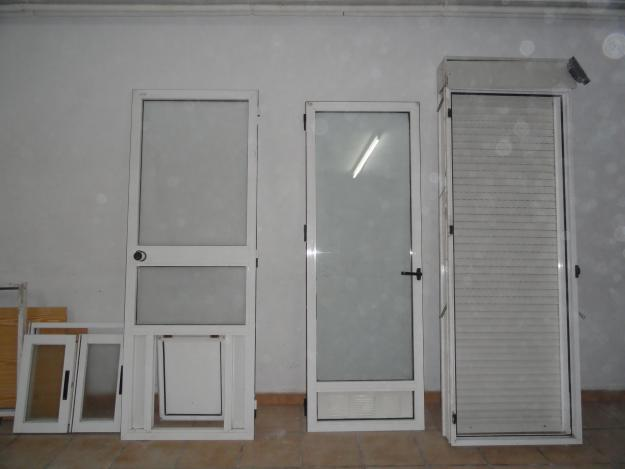 Vendo Econ Mico Lote De 2 Puertas De Aluminio Y 1 Ventana