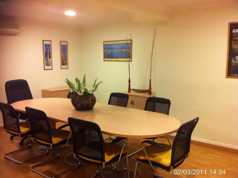 Alquiler sala de juntas, reunión de empresa