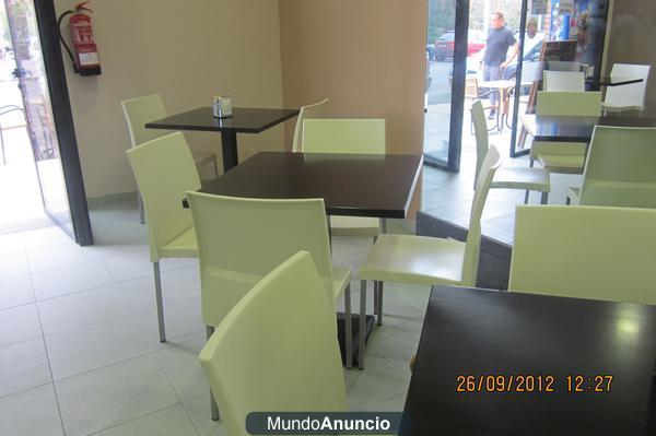 Mobiliario de bar cafeter a restaurante en sagunto for Mobiliario cafeteria segunda mano