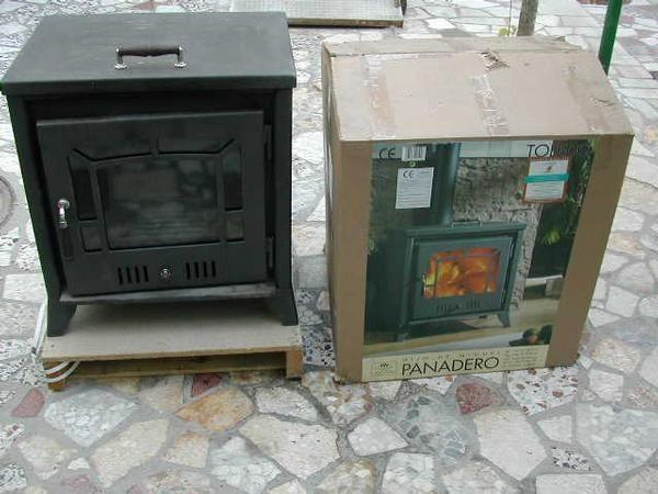 Estufa de le a marca panadero 225euros mejor precio for Estufas de lena precio