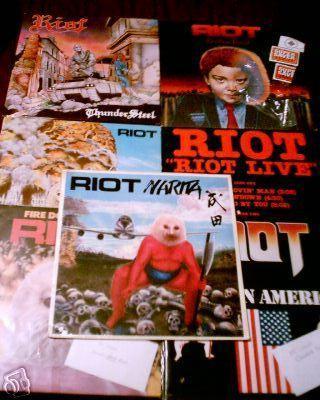 Discos de vinilo de hard rock y heavy