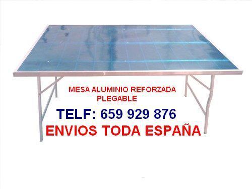 Precio Ambulante Mesa Para Mejor O Aluminio Venta Mercadillo WD2beEIHY9