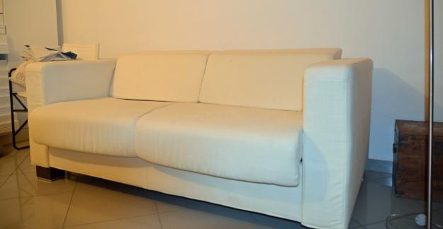 Sof cama blanco muy c modo con plegado italiano 172830 for Sofa cama muy comodo