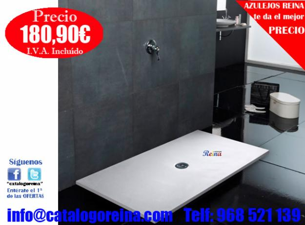Plato de ducha tornado 80x60 mejor precio for Plato ducha 60 x 80
