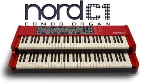 Teclado Sintetizador Clavia Nord C1 Combo Organ