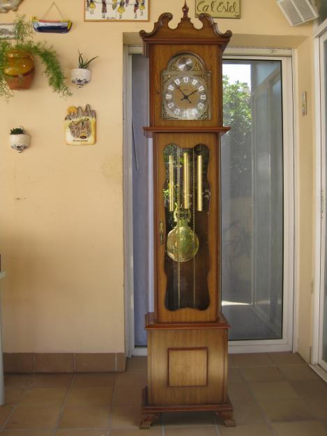 Vendo Reloj De Pie Hersa Con Pendulo Y Carrillon Mejor
