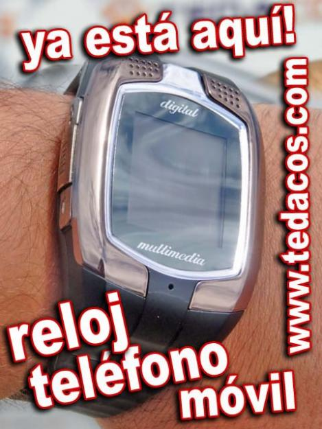 Reloj con Teléfono Móvil de Pulsera Tedacos (Doble SIM) Pantalla Táctil - Bluetooth - GSM
