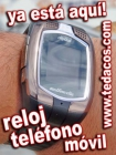 Reloj con Teléfono Móvil de Pulsera Tedacos (Doble SIM) Pantalla Táctil - Bluetooth - GSM - mejor precio | unprecio.es