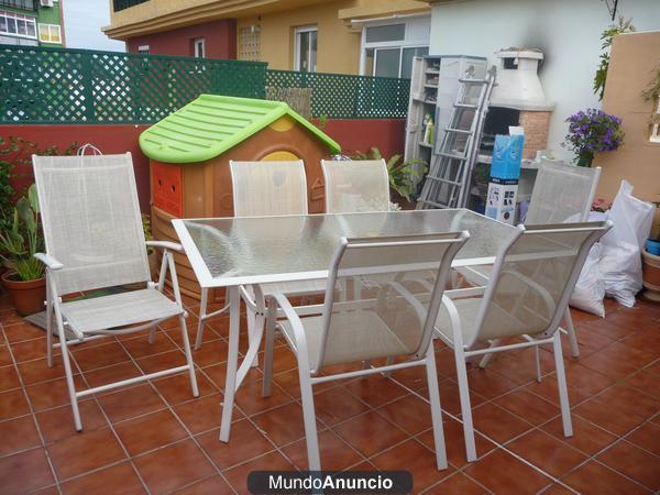 conjunto terraza jardin 297566 mejor precio