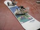 Tabla Snowboard 1´43 WAVE SD France con  Fijaciones EMERY - mejor precio | unprecio.es