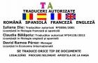 Traduceri autorizate romana-spaniola/ Apostila de la Haga / Procuri - mejor precio   unprecio.es