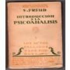Introducción al Psicoanálisis. 2 tomos. Traducción Luis López- Ballesteros y de Torres. --- Sarpe, Colección Los Grande - mejor precio | unprecio.es