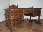 Mesa, sillón y sillas de despacho antiguos - mejor precio | unprecio.es