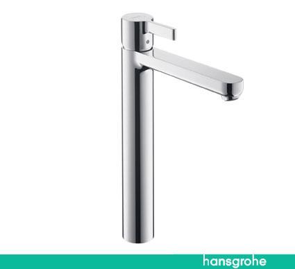 hansgrohe mezclador monomando de lavabo ca o alto metris