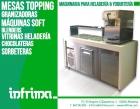 Maquina de helado soft + mesa topping - mejor precio | unprecio.es