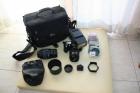 Nikon F80 con dos objetivos y flash Metz - mejor precio | unprecio.es