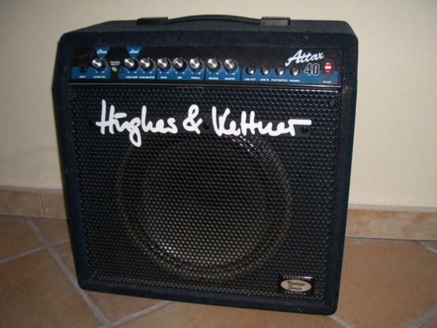 Ampli guitarra Hugues&kettner 40 watios