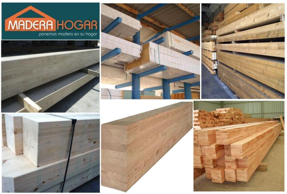 Vigas de madera laminadas mejor precio for Vigas de madera para jardin