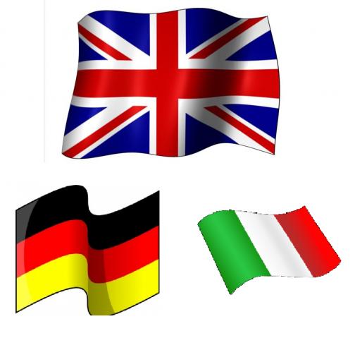 Traducciones de inglés, alemán e italiano (licenciada)