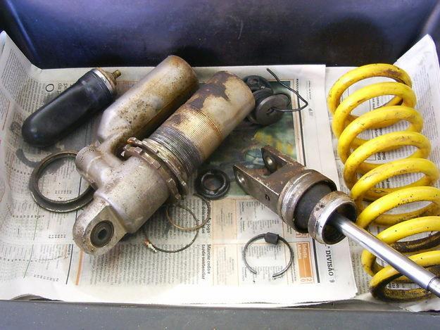 Donde reparar amortiguadores moto