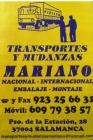 Transportes y mudanzas mariano - mejor precio | unprecio.es