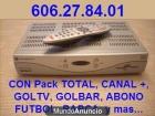 DECO ONO DIGITAL LIBERADO, CANAL+, GOLTV, PAQUETE TOTAL, ABONO FUTBOL - mejor precio   unprecio.es