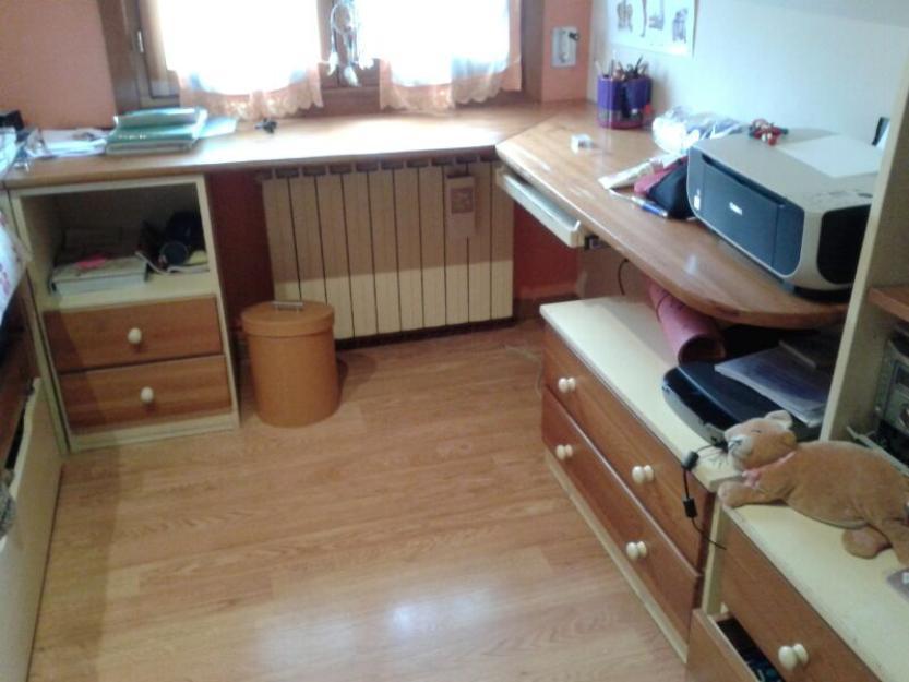 Habitaci n juvenil completa madera de pino macizo 118197 for Habitacion juvenil completa