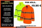 PROMOCIÓN PARKA LABORAL DE ALTA VISIBILIDAD - mejor precio | unprecio.es